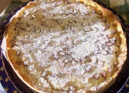 torta mandorle e ricotta