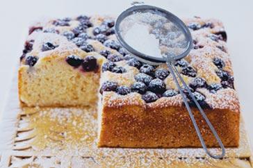 torta ai mirtilli