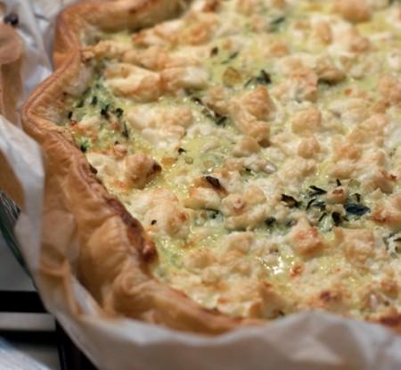 Torta salata di verdure allo stracchino