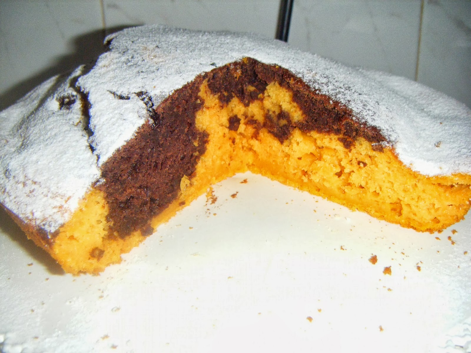 torta zucca cioccolato