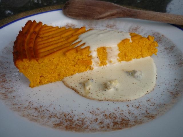 torta zucca riso e formaggio