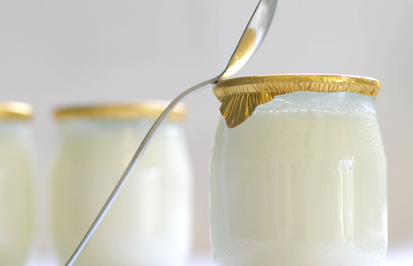 yogurt e bicarbonato