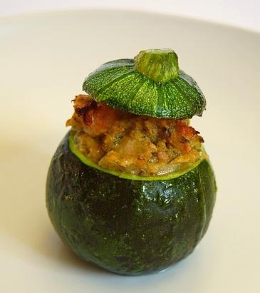 zucchine ripiene ricetta base