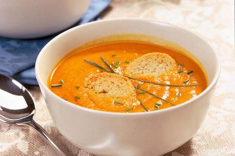 zuppa di zucca al curry