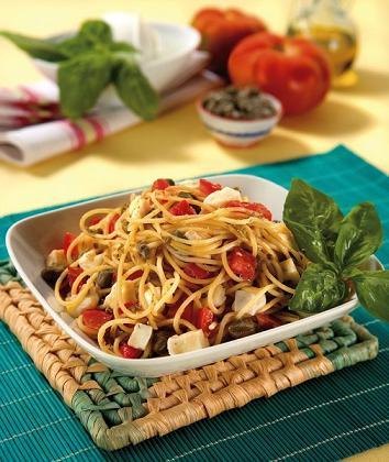 spaghetti tricolori