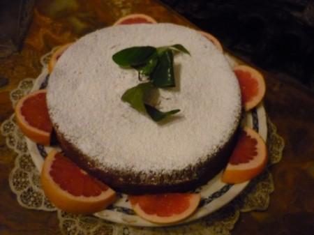 torta pompelmo rosa