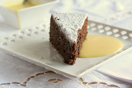 Torta caprese al cioccolato di Cotto e Mangiato