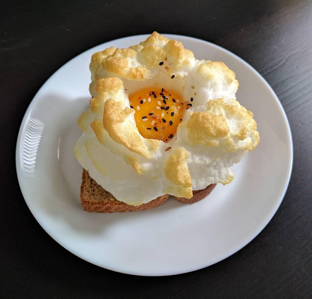 uova nuvola la ricetta