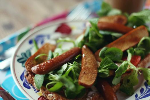 wurstel vegani ricetta