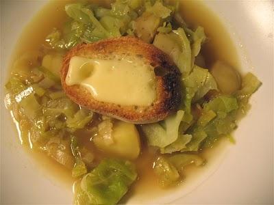 Zuppa di trota e patate